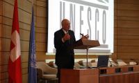 Pascal Couchepin   © photo DR : J.Liniger - studio-irresistible.com pour la délégation suisse auprès de l'UNESCO