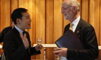 Dialogue international   © photo DR : J.Liniger - studio-irresistible.com pour la délégation suisse auprès de l'UNESCO